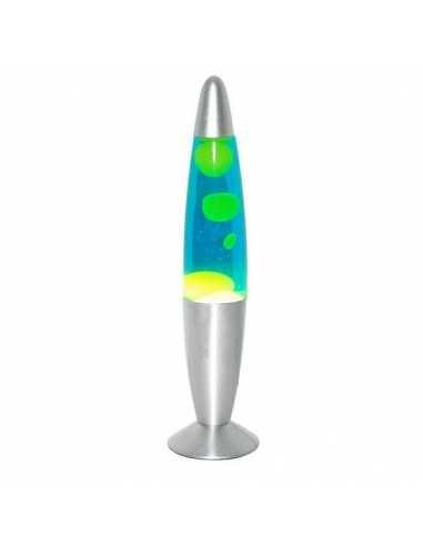 Lámpara de lava 40cm azul / verde