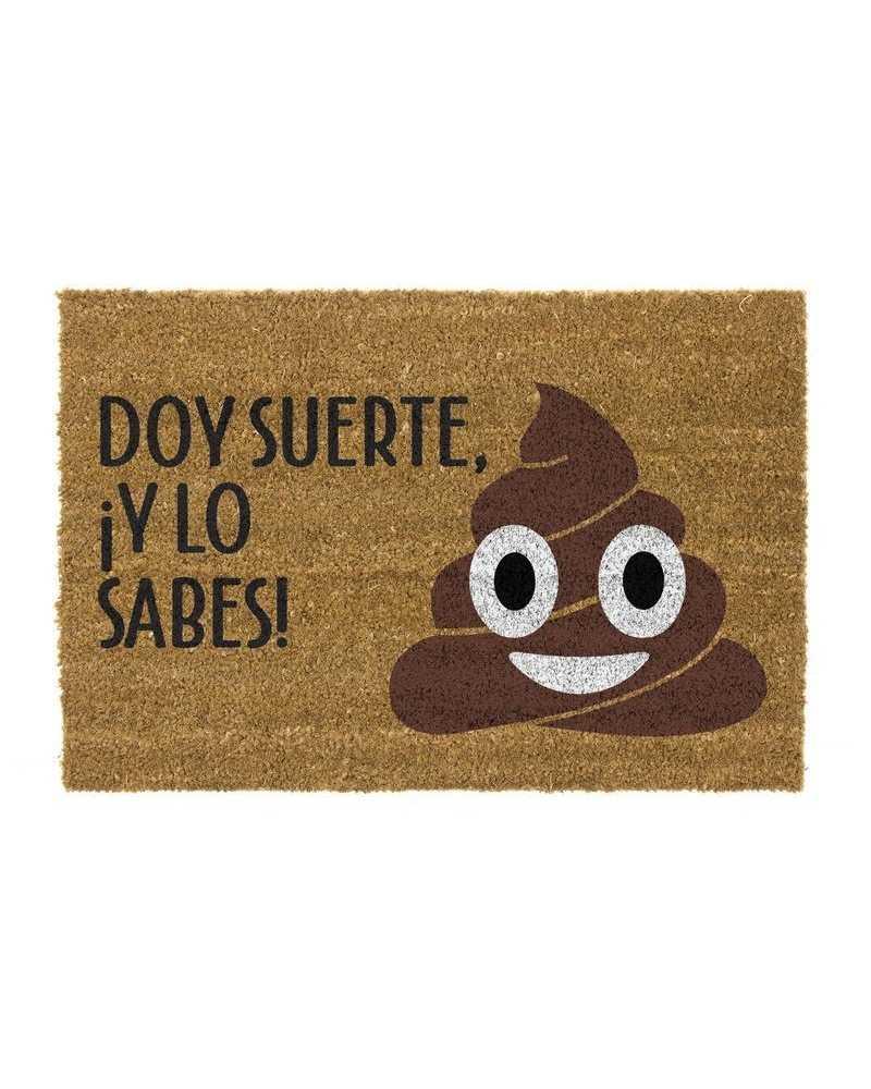 FELPUDO CAQUITA SUERTE 40x70